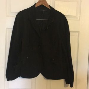 Talbots size 22 WP Black jacket.